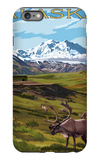 Denali National Park  Alaska - Caribou and Stoney Overlook