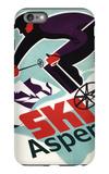 Ski in Colorado Vintage Skier - Aspen  Colorado