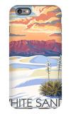 White Sands National Monument  New Mexico - Sunset Scene