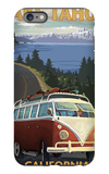 Lake Tahoe  California - VW Coastal Drive