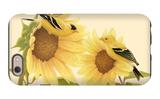 Yellow Birds on Sunflowers