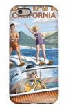 Lake Tahoe  California - Water Skiing Scene
