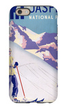 Jasper National Park  Canada - Woman Posing Open Slopes Poster