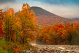 Crazy Autumn Color  White Mountains New Hampshire New England