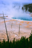 The Amazing Grand Prismatic Spring  Yellowstone National Park