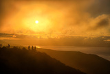 I'm On Fire  Misty Sun at Marin Headlands  San Francisco