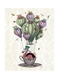 Dodo Balloon with Dragonflies