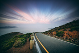 Road and Clouds  Marin Headlands  San Francisco