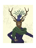 Deer and Fascinator