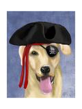 Yellow Labrador Pirate