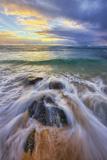 Sunrise at Kapa'a Beach  Kauai Hawaii