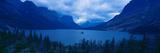 St Mary Lake  Glacier National Park  Montana