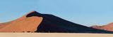 Red Dunes  Sossusvlei  Namib Desert  Namib-Naukluft National Park  Namibia