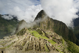 The Pre-Columbian Inca Ruins of Machu Picchu