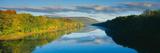 Delaware River in Autumn  Near Port Jarvis  Pennsylvania
