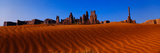 Yei Bi Chei and the Totem Pole  Sunrise  Monument Valley  Arizona