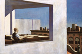 Office in a Small City, 1953 Giclée par Edward Hopper