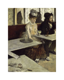 In a Cafe  1873