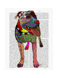 Staffordshire Bull Terrier - Patchwork
