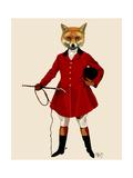 Fox Hunter 2 Full Reproduction d'art par Fab Funky