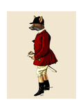 Fox Hunter 1 Reproduction d'art par Fab Funky