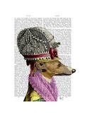 Greyhound in 16th Century Hat