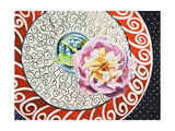 Flower on Plate I