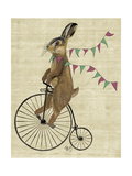 Rabbit on Penny Farthing
