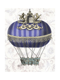 Baroque Balloon with Temple Reproduction d'art par Fab Funky