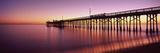 Balboa Pier at Sunset  Newport Beach  Orange County  California  Usa