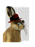 Steampunk Hare with Bowler Hat