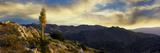 Clouds over Anza Borrego Desert State Park  San Diego County  California  Usa