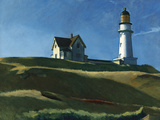 Lighthouse Hill, 1927 Giclée par Edward Hopper
