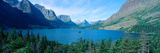 Sunrise over St Mary Lake  Glacier National Park  Montana