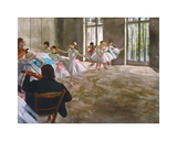 Rehearsal in the Studio  c1878-1879