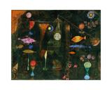 Magie des poissons Giclée par Paul Klee