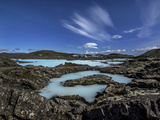 The Exterior Pools of Blue Lagoon  in Iceland