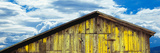 Weathered Wooden Barn  Gaviota  Santa Barbara County  California  Usa