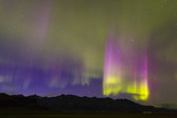 A Northern Lights Display with Strong Light Pillars During a Geomagnetic Solar Storm