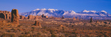 Windows Section  Arches National Park  Moab  Utah