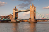 Tower Bridge  Thames River  London  England