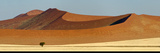 View of Red Dunes  Sossusvlei  Namib Desert  Namib-Naukluft National Park  Namibia