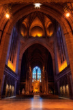 Liverpool Cathedral  Church of England  Built on St James's Mount