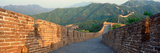 The Great Wall at Mutianyu in Beijing in Hebei Province  People's Republic of China