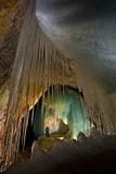Ice Formations Inside Eisriesenwelt Eishoehle in Werfen  Austria