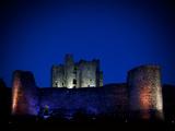 The Flood Lit Walls of Trim Casle  Trim  County Meath  Ireland