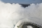 The National Geographic Explorer Crashes Through a Wave in the Drake Passage of the Southern Ocean