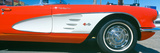 Restored Red 1959 Corvette  Fender Close-Up  Portland  Oregon