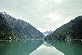 Magnificent Cliffs Reflect in the Aqua Green Waters of Tracy Arm Fjord