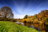 The River Suir in County Tipperary  Ireland
